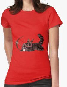 Arrow Kitten Womens Fitted T-Shirt