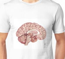The Human Brain- Scientific Illustration Unisex T-Shirt