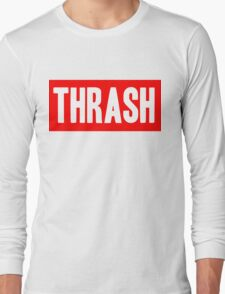 Thrash red Long Sleeve T-Shirt