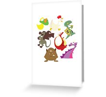 munchkin monsters Greeting Card