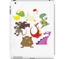 munchkin monsters iPad Case/Skin