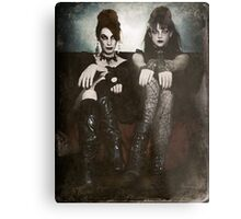 Sisters of the Sinister Metal Print