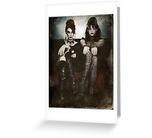 Sisters of the Sinister Greeting Card