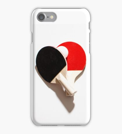 Ping pong go iPhone Case/Skin