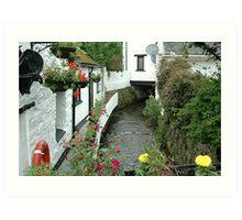 Polperro - Cornwall - uk Art Print