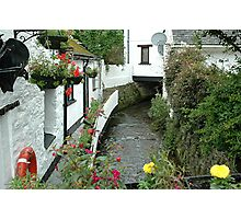 Polperro - Cornwall - uk Photographic Print