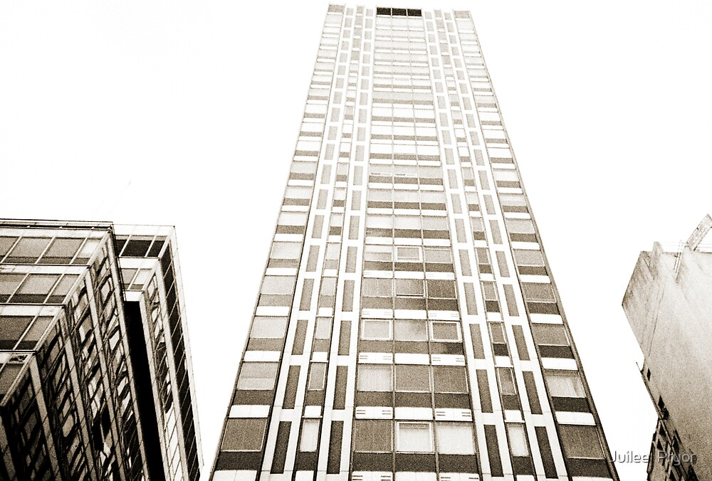 Tall Building Lomo Argentina by Juilee  Pryor