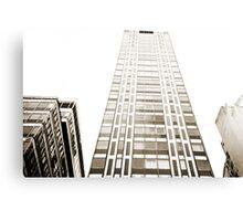 Tall Building Lomo Argentina Canvas Print