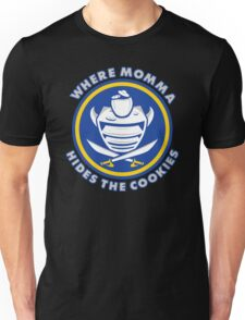 Where Momma Hides the Cookies Unisex T-Shirt
