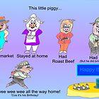 "Happy Birthday ""This little piggy"" by EddyG"