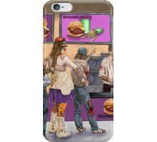 Brainburgers iPhone Case/Skin