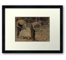 daddies 1957 Framed Print