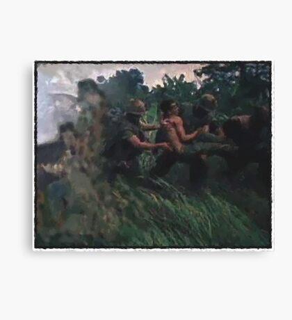 Dustoff in Nam Canvas Print