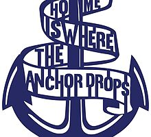 Home is where the anchor drops  by Ameeraalqaed