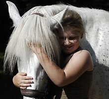 First Love - Girl and Pony by SusannahFry