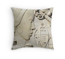 sand motive Throw Pillow