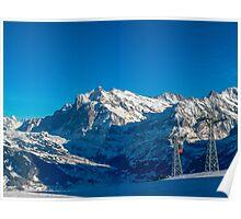 Faulhorn Winter Scene Poster
