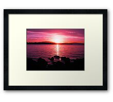 Tasmanian Sunset No.7 Framed Print