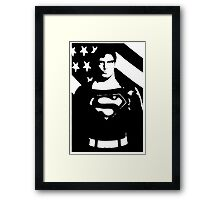 Waiting For Superman Framed Print