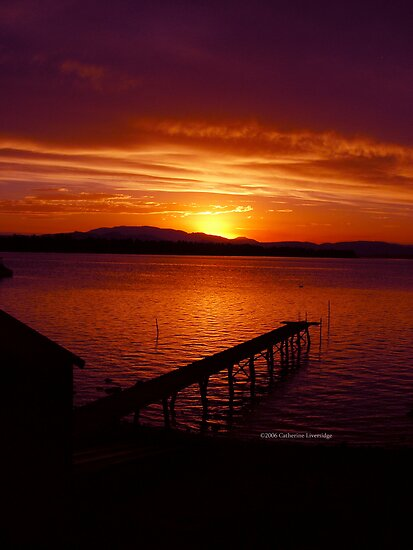 Tasmanian Sunsets No. 10 by Catherine Liversidge