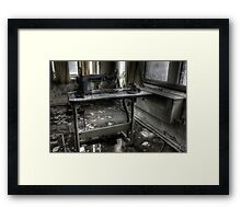A stitch in time Framed Print