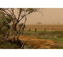 Mallee Dust - Red Cliffs, Vic Photographic Print