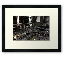 Basement access Framed Print