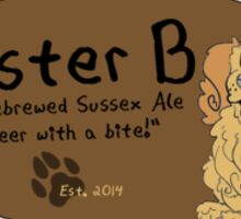 mister b ale Sticker