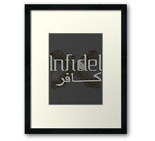Chaos Infidel Framed Print