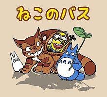 Nekobus minion by Tokyo3000