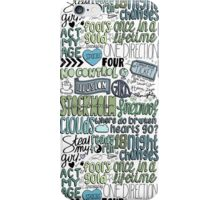 four collage COLORED iPhone Case/Skin