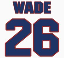 National football player Jonathan Wade jersey 26 by imsport