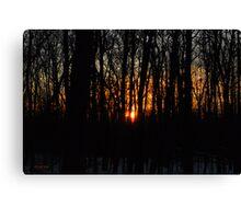 Waking up the Sun :) Canvas Print