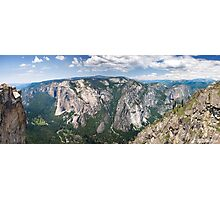 Yosemite Valley From Taft Point Photographic Print