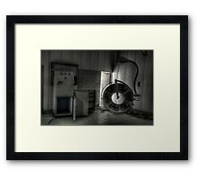 In surgery Framed Print