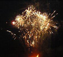 Firework sparkle by jeanmarie