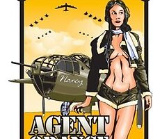 Agent Orange by pinupgirltees
