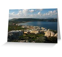 Malta Landscapes the North Greeting Card