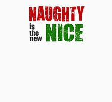 Naughty is the New Nice Womens Fitted T-Shirt