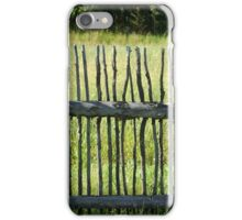 Fence 3 iPhone Case/Skin
