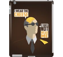 I Wear The Cheese iPad Case/Skin