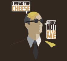 I Wear The Cheese T-Shirt