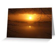 Golden Mist  Greeting Card