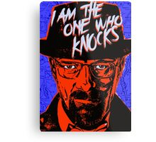 Breaking Bad - The One Who Knocks Metal Print