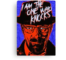 Breaking Bad - The One Who Knocks Canvas Print