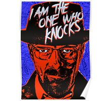 Breaking Bad - The One Who Knocks Poster