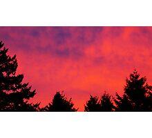 Rising Glow Photographic Print