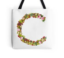 Capital Letter C Part of a set of letters, Numbers and symbols  Tote Bag
