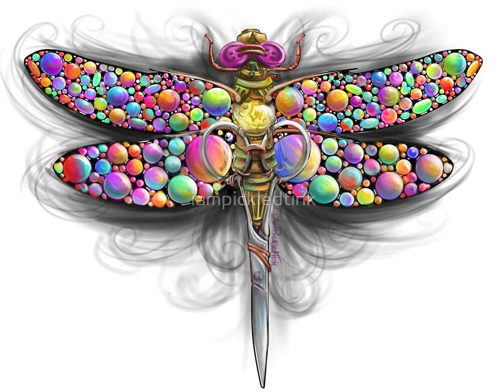 Little Snippets: Steampunk Dragonfly by iampickledtink