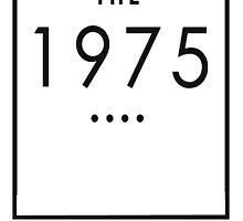 The 1975 - Transparent Logo  by Ffion Thomas